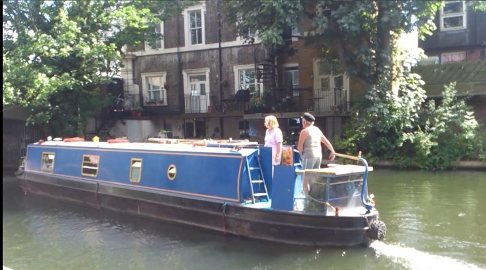 Londoni tévelygések (28.) Hajók a Regent's csatornán