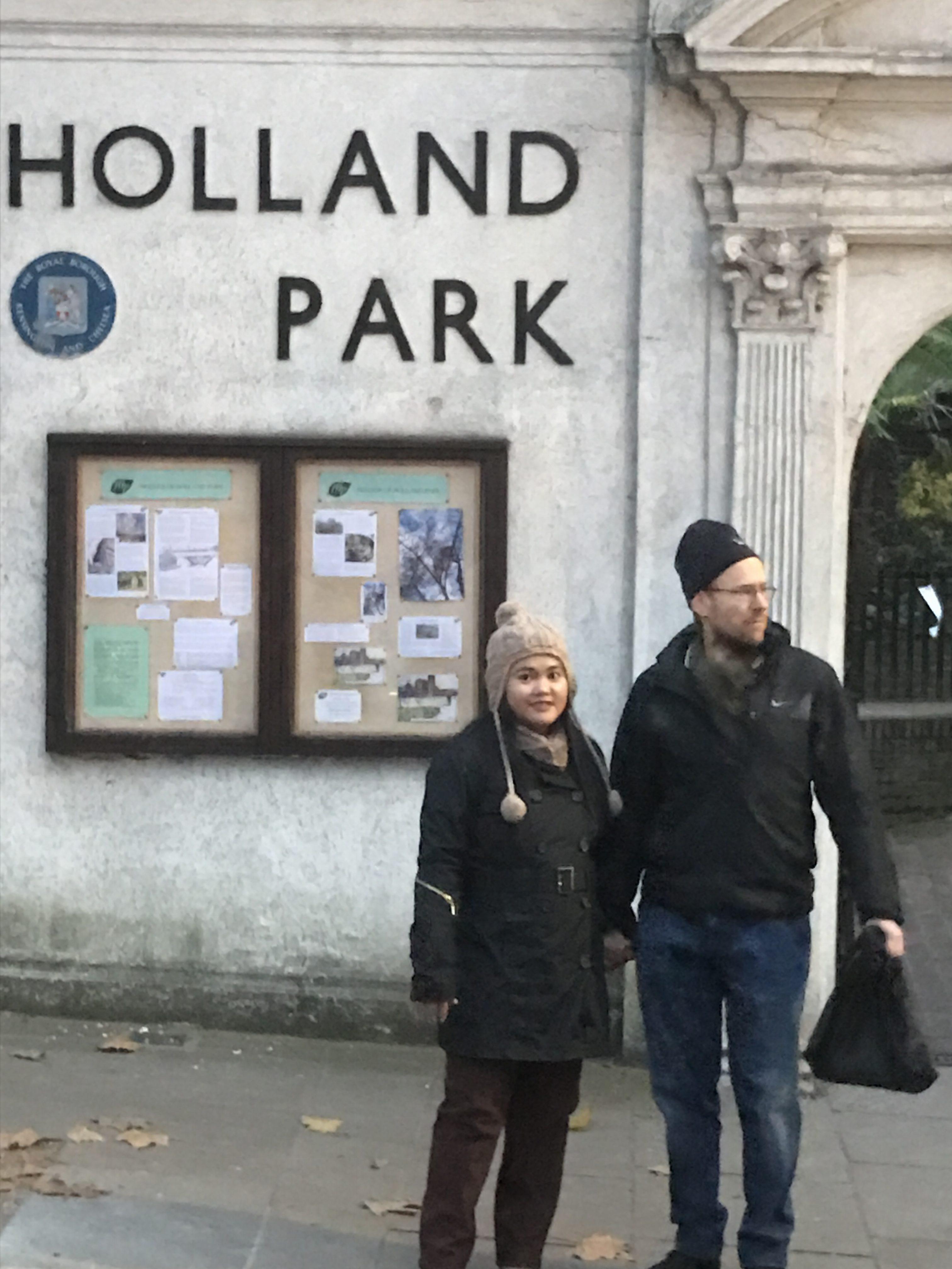 Londoni tévelygések (49.) Holland parki mókusok