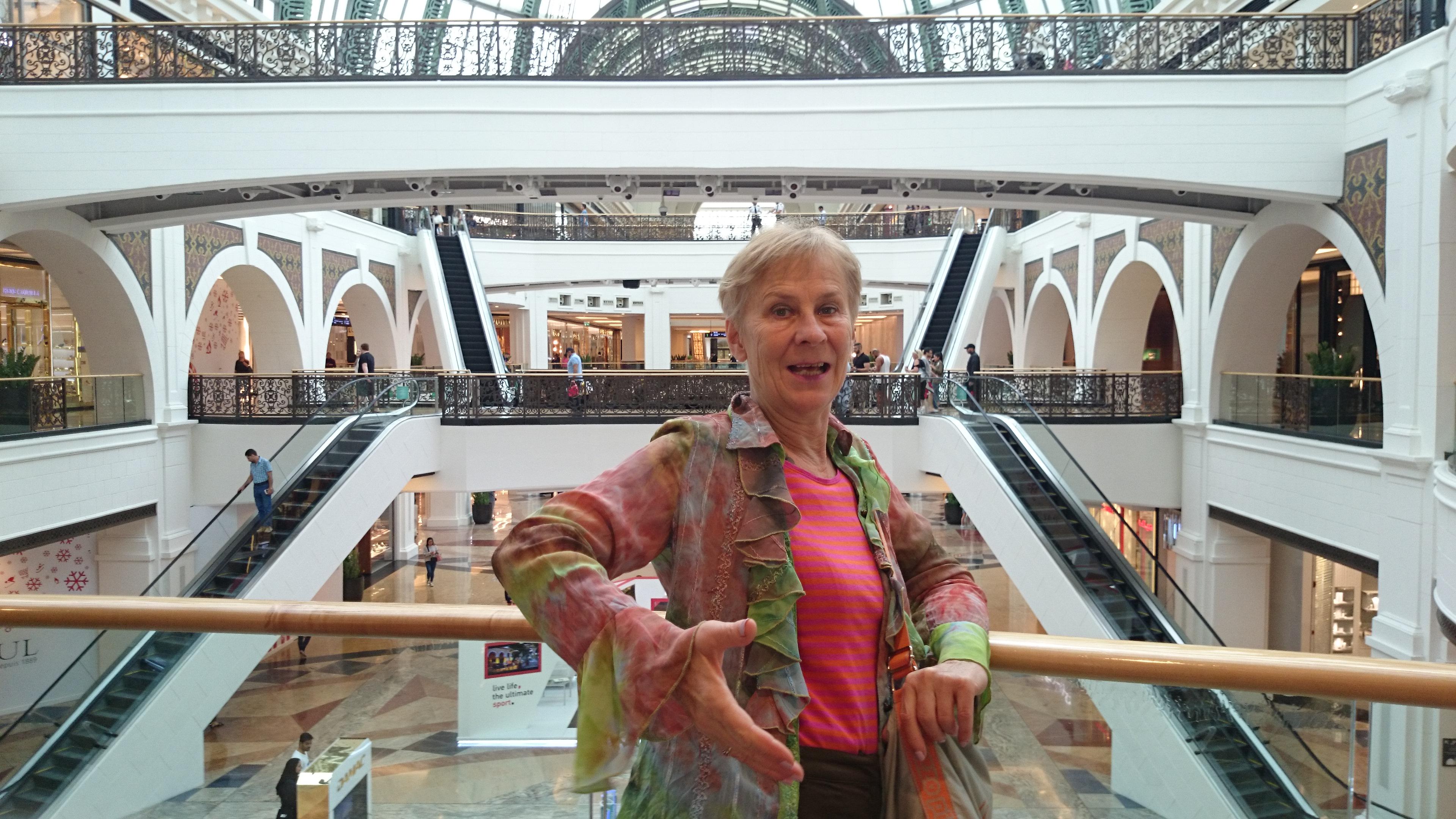 Dubaj (14.) Mall Bevásárló központ – majd ha a saját szememmel látom…